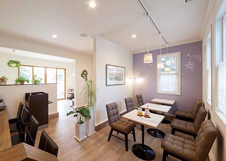 カフェや店舗の施工建築実例をご案内
