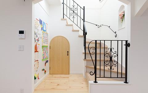 イタリア旅行で感動したデザインを家創りに