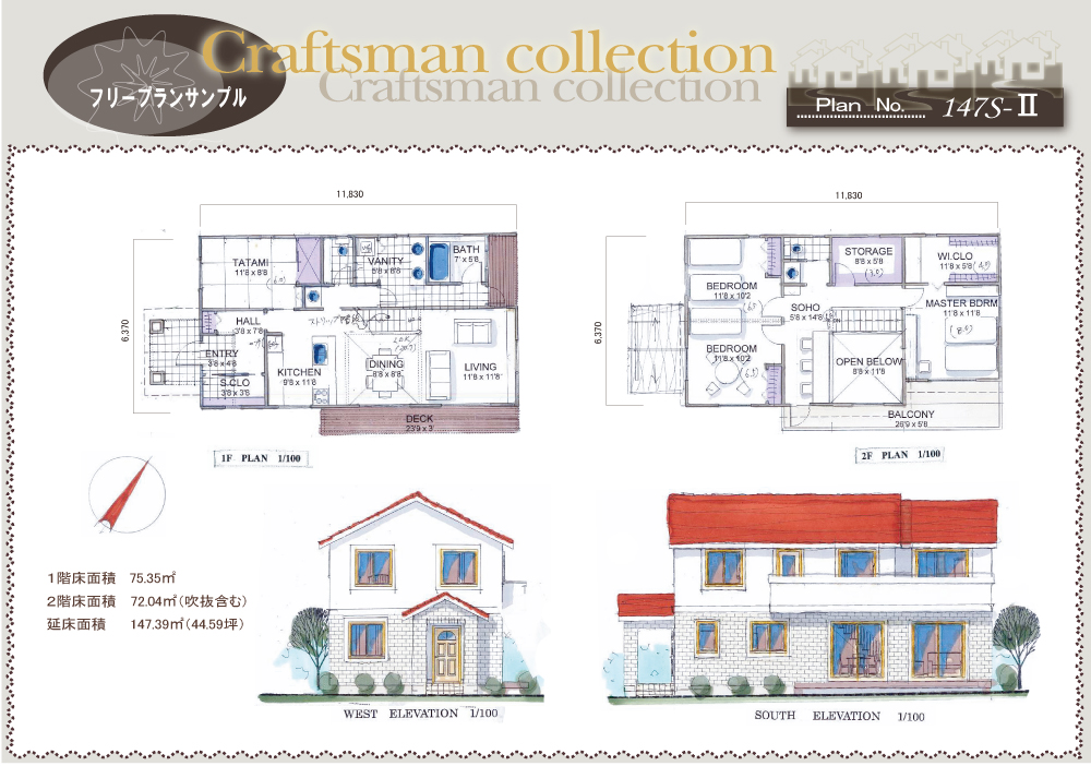 Craftsman collection 147s-Ⅱ