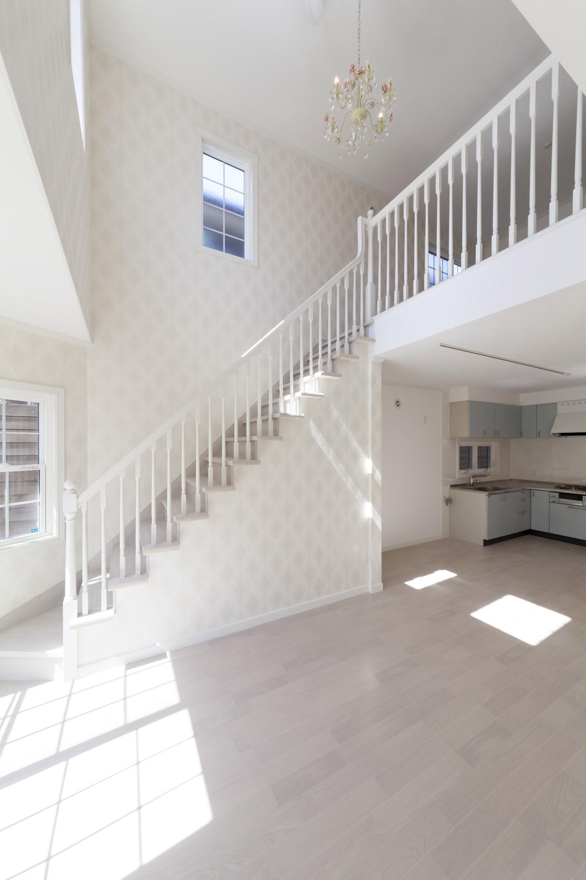 階段アート-LJスミス ウッドバラスター