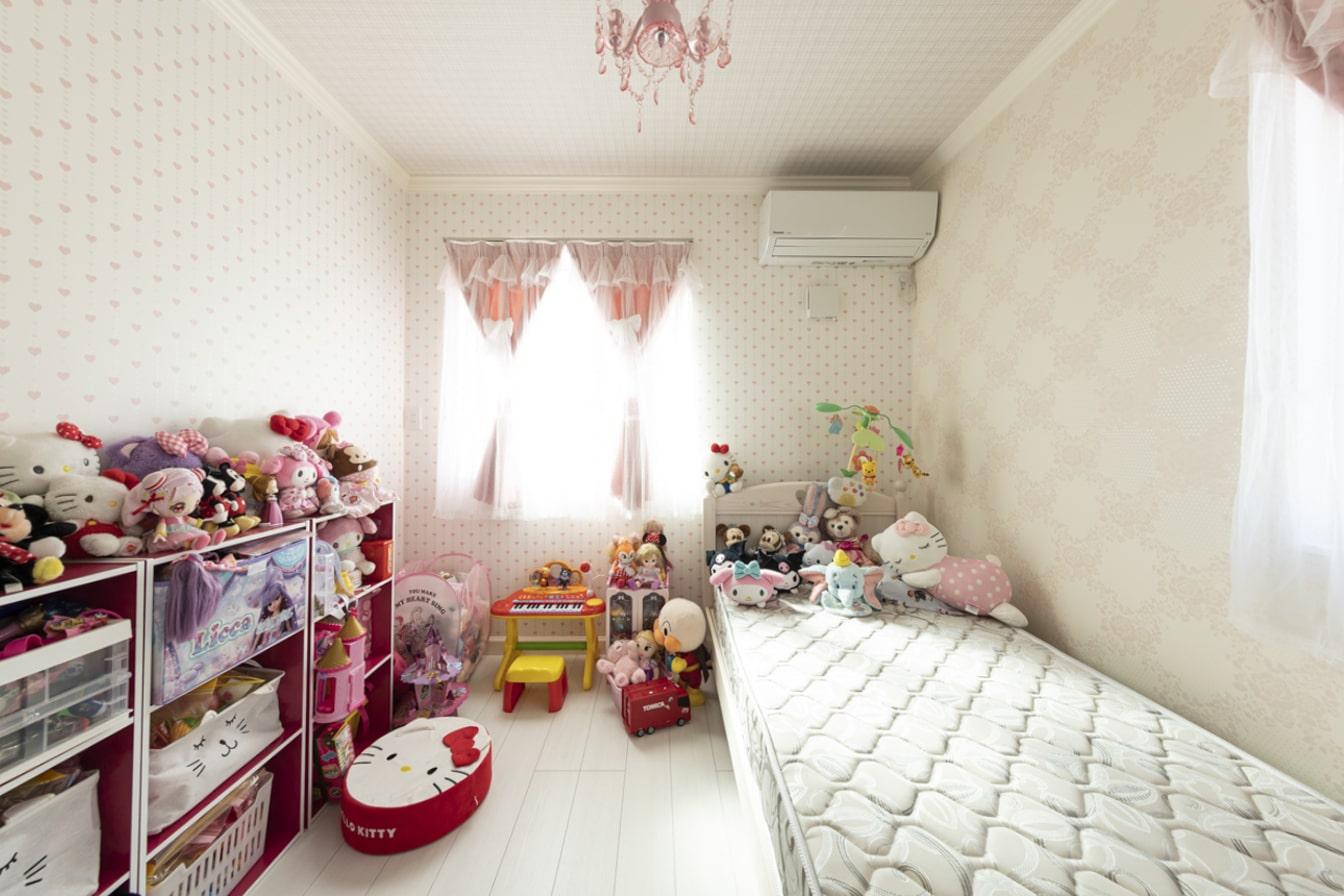 成長を楽しむ夢いっぱいの子供部屋