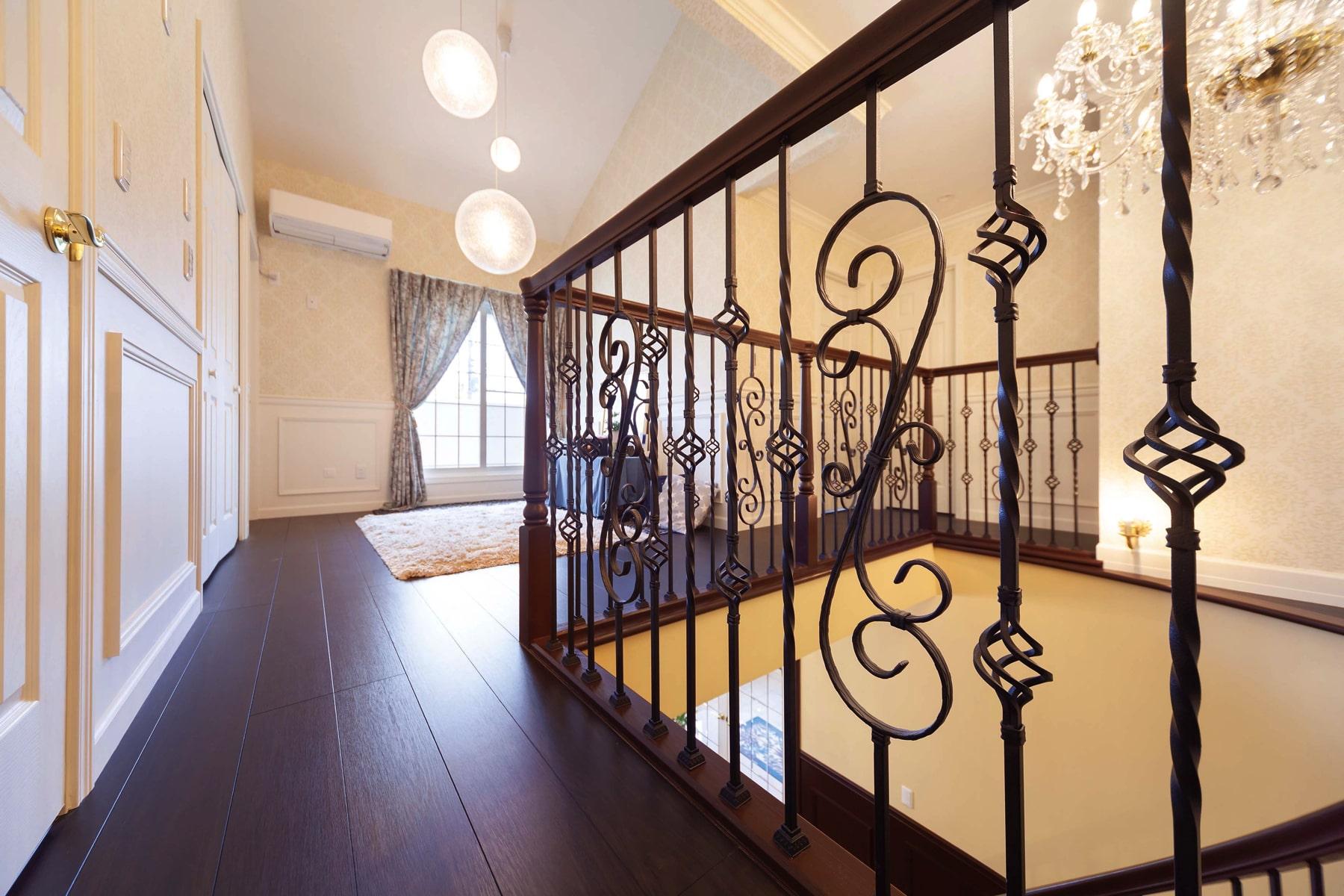 階段を我が家のポイントに絵になるこだわりのリビング階段