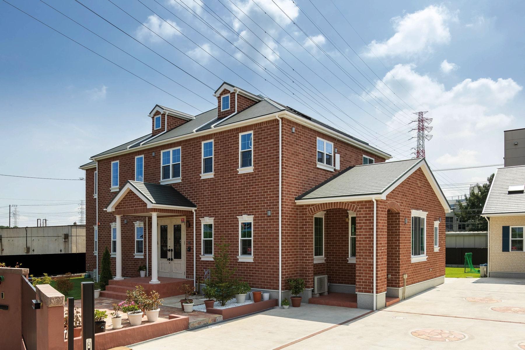 家族の誇り「街のランドマーク」心ときめく美しい輸入住宅